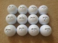 12 SRIXON AD333 GOLF BALLS IN ABSOLUTELY MINT CONDITION