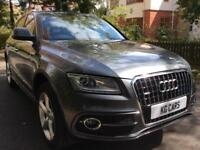Audi Q5 2.0TDI 2014 Quattro S Line Step tronic FSH BUY FOR £75 PER WEEK