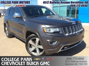 2014 Jeep Grand Cherokee Overland  - Navigation -  Sunroof -  Le