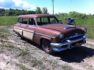 1954 Mercury Monterey Woody Wagon project or parts merc o matic
