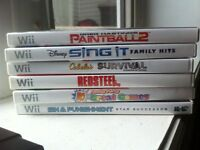Few Wii games for sale