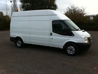 Ford transit T350 125ps 2.2 tdci diesel lwb high roof 2013 13 reg
