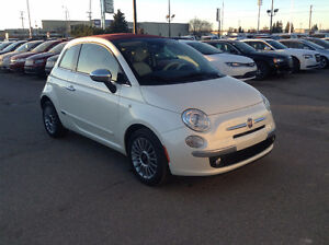 2012 Fiat 500 Convertible ONLY 24500KM