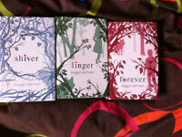 Shiver, Linger, Forever by Maggie Stiefvater set