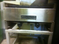 commercial natural gas grill in good condition for sale