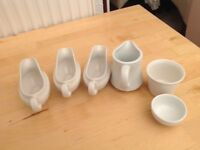 JUGS AND DIP DISHES
