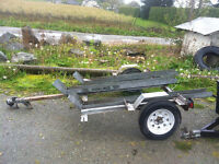 2014 MOTORCYCLE TRAILER