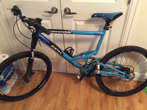 Used Cannondale Jekyll 800 with Lefty shock