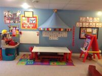 Sept spot available in French Daycare In Island lakes