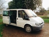 Ford Transit LHD 8 seater crew Van