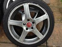 """20"""" Honda alloy wheels"""