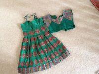 2-4 year old girls long dress