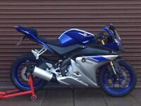 Yamaha YZF R125 2016 ABS Only 681 miles SuperSport Nationwide Delivery Available