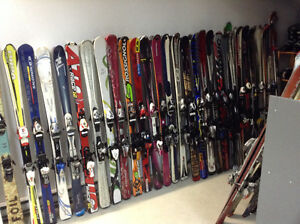 Liquidation de skis alpins
