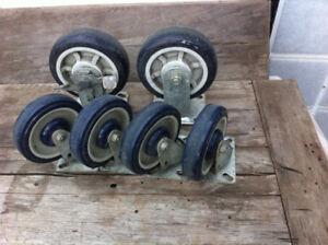Dolly wheels