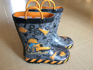 Construction Rain Boots size 11 - Brand New