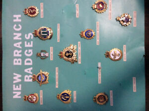 New Branch Military badges