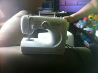 Omega sewing machine.