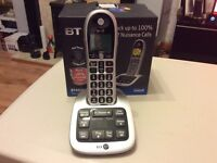 B.t 4600 big button digital cordless answer machine (new)