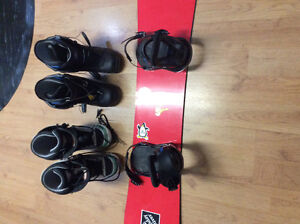 Snow board and gear