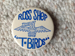 Ross Shep Retro Button