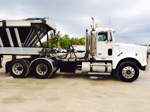 2004 Freightliner SLD 120 Day Cab / Wet Line