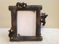 "GREAT BLACK BEAR PHOTO FRAME BY ""BEARFOOTS"""