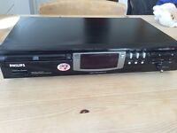 Phillips separates cd player