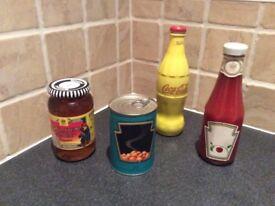 SELFRIDGES limited edition Heinz beans ketchup Coca Cola Coke Marmalade