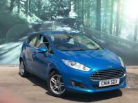 2014 Ford Fiesta 1.0 ZETEC 5d 99 BHP Hatchback Petrol Manual
