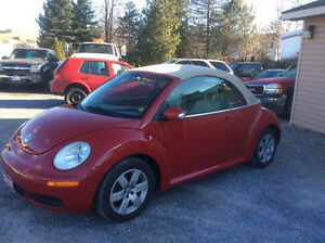 2007 Volkswagon Bettle Convertible Auto new MVI when sold $6995.
