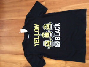 New! Minion tshirts youth size large or xl