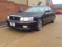 """LEXUS LS400 V8, VIP,MODIFIED,STANCED.20"""" DEEP DISH,STUNNING ORIGINAL COND.COILOVERS"""
