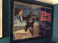 King Kong Original Poster - Professionally Framed