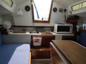 7.5 Tanzer Sail Boat