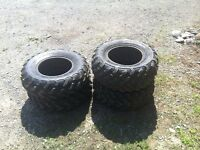 Set of four wheeler tires for sale