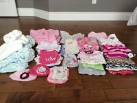 QUALITY Baby Girl Clothing, Shoes and Other Items (0-12 mos +)