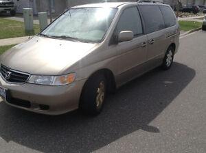 2004 Honda Odyssey Trade Considered
