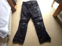 RST ladies motorbike trousers small