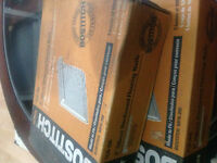 Bostich  hardwood flooring nails 10 boxes of 1000