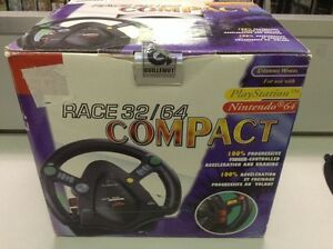 Racing wheel PlayStation & Nintendo 64