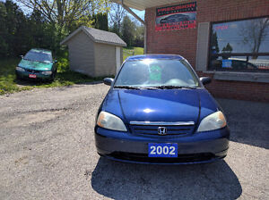 2002 Honda Civic  4Door Auto !!! $2995.00 Financing available!!!