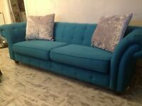 Chesterfield 3/4 seater sofa