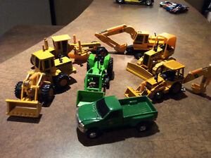 John Deere dicast metal toy set