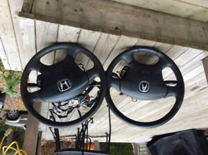 Honda steering wheels &  steering columns
