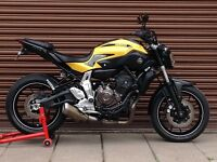 Yamaha MT-07 700 2015. Only 8458miles. Delivery Available *Credit & Debit Cards Accepted*