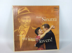 "Frank Sinatra's 1956 ""Songs for Swinging Lovers"" Vinyl Record"