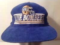 WINNIPEG BLUE BOMBERS CORDUROY SNAP BACK CAP