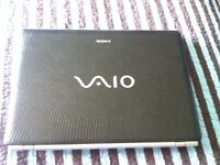 SONY VAIO LAPTOP--- VERY CHEAP MINT CONDITION