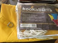 Kookaburra 3.6m triangle Waterproof sail shade
